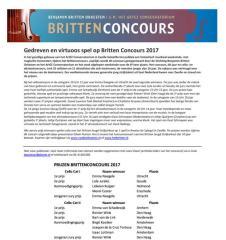 Britten 2017
