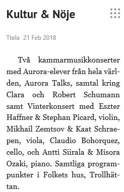 persbericht Ttela Zweden